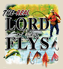 Pure Sport Fishing T-Shirt: Lord Of The Flys