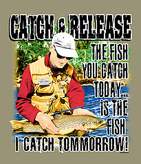 Pure Sport Fishing T-Shirt: Catch & Release