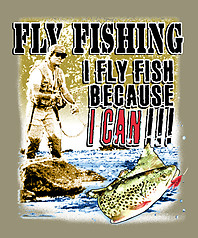 Pure Sport Fishing T-Shirt: Fly Fish