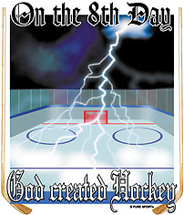 Hockey T-Shirt: 8th Day Hockey