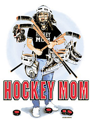 Long Sleeve Hockey T-Shirt: Hockey Mom Gear