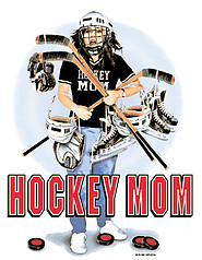 Pure Sport Long Sleeve Hockey T-Shirt: Hockey Mom Gear