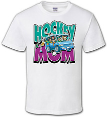 Hockey T-Shirt: Hockey Mom Van