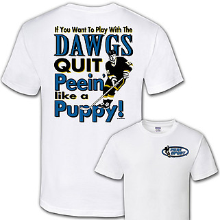 Pure Sport Hockey T-Shirt: Play With the Dogs