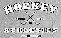 Hockey T-Shirt: Hockey Athletics