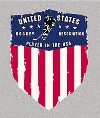 Pure Sport Long Sleeve Hockey T-Shirt: USA Hockey