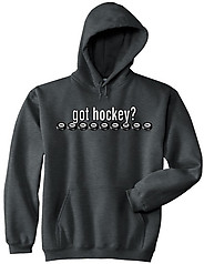Pure Sport Hooded Hockey Sweatshirt: Got Hockey
