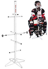 Wet Gear Hockey Equipment Dryer Rack: Metal Model