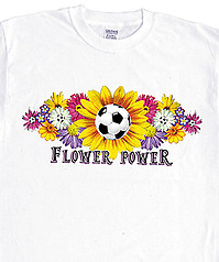 Pure Sport Soccer T-Shirt: Flower Power