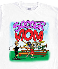 Pure Sport Soccer T-Shirt: Soccer Mom Penalty