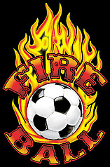 Pure Sport Long Sleeve Soccer T-Shirt: Fireball Soccer