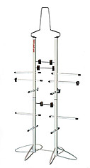 Sports Equipment Dryer Rack: Metal Locker Deluxe Model