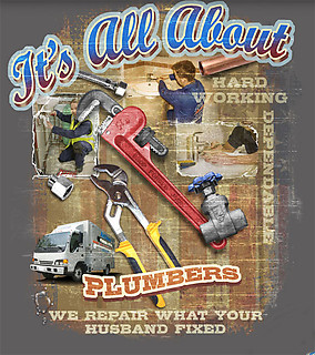 Coed Sportswear Plumbing T-Shirt: All About Plumbing