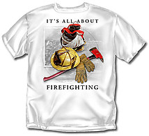 Firefighter T-Shirt: All About Firefighting