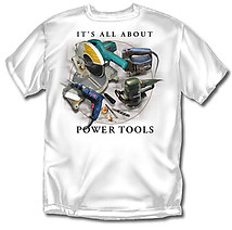 Carpenter T-Shirt: All About Tools