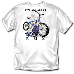 Coed Sportswear BMX T-Shirt: All About BMX Biking - Youth
