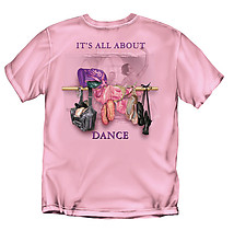 Dance T-Shirt: It's All About Dance