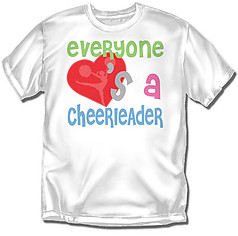 Coed Sportswear Youth Cheer T-Shirt: Everyone Cheer