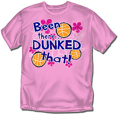 Coed Sportswear Youth Basketball T-Shirt: Been There Basketball