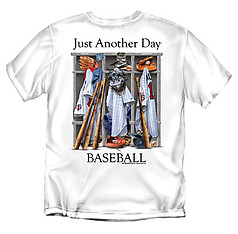 Coed Sportswear Baseball T-Shirt: Just Another Day Baseball