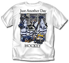 Coed Sportswear Hockey T-Shirt: Just Another Day