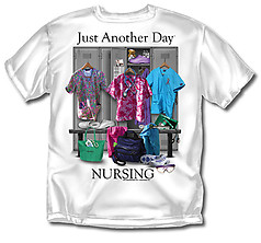 Coed Sportswear Nursing T-Shirt: Just Another Day Nursing