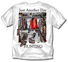 Coed Sportswear Hunting T-Shirt: Just Another Day