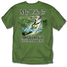 Coed Sportswear Fishing T-Shirt: My Life