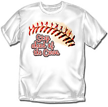 Youth Baseball T-Shirt: Ahead Of The Curve