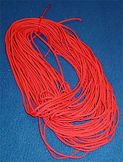 Hockey Net Red Lacing Cord-100 feet