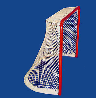 Edge Sports 2 Inch Portable Rink Rat Regulation Hockey Goal