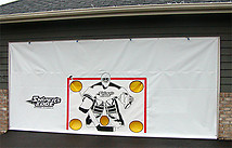 Garage Door Hockey Shooting Target
