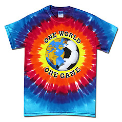 Pure Sport Soccer T-Shirt: One World Sunburst