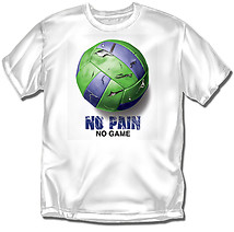 Youth Volleyball T-Shirt: No Pain No Game