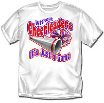 Youth Cheer T-Shirt: Without Cheerleaders