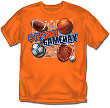 Youth Multi Sport T-Shirt: Game Day
