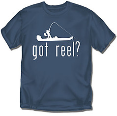 Coed Sportswear Fishing T-Shirt: Got Reel?