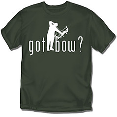 Coed Sportswear Hunting T-Shirt: Got Bow?