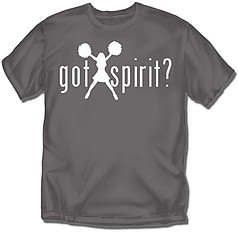 Coed Sportswear Cheer T-Shirt: Got Spirit?
