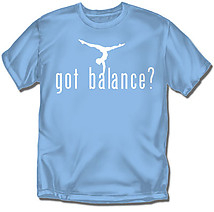 Youth Gymnastics T-Shirt: Got Balance?