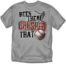 Youth Baseball T-Shirt: Crushed That Baseball