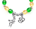 Girl's Basketball Bracelet In All Team Colors