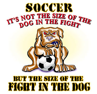 Pure Sport Soccer T-Shirt: Fight In The Dog