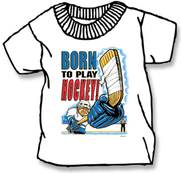 Pure Sport Hockey T-Shirt: Born to Play (Infant/Toddler)