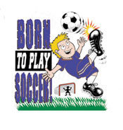 Pure Sport Soccer T-Shirt: Born to Play (Infant/Toddler)