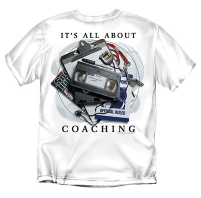 Coed Sportswear Coaching T-Shirt: It's All About Coaching