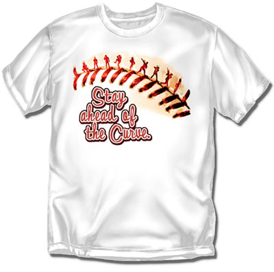 Coed Sportswear Youth Baseball T-Shirt: Ahead Of The Curve