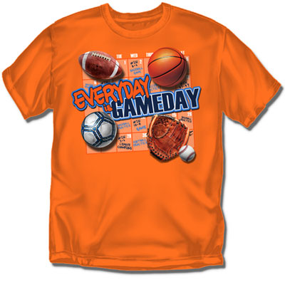 Coed Sportswear Youth Multi Sport T-Shirt: Game Day
