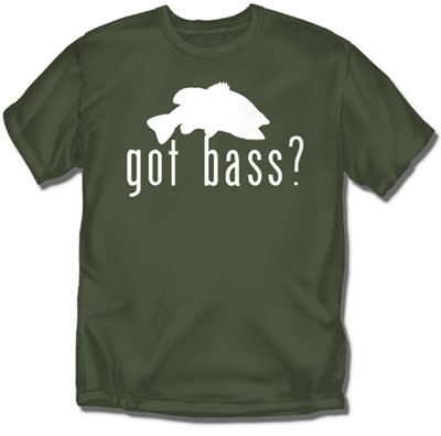 Coed Sportswear Fishing T-Shirt: Got Bass?