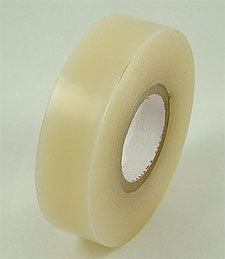 Jaybird Clear Vinyl Shin Pad Hockey Tape: 1 inch x 30 yds.